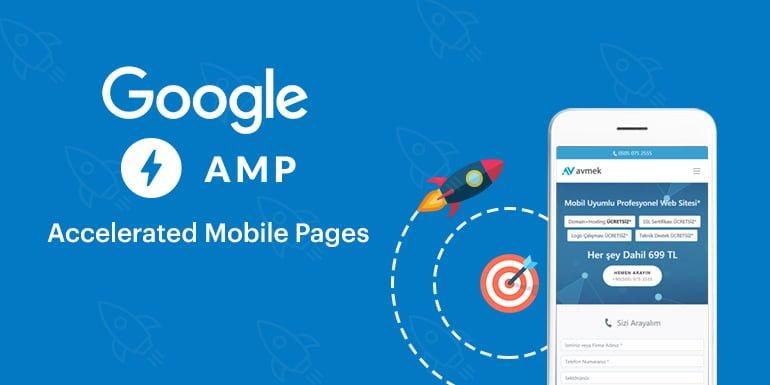 Google AMP, web sayfalarını mobil cihazlarda hızlandırmak amacıyla geliştirilmiş kodlama sistemidir.
