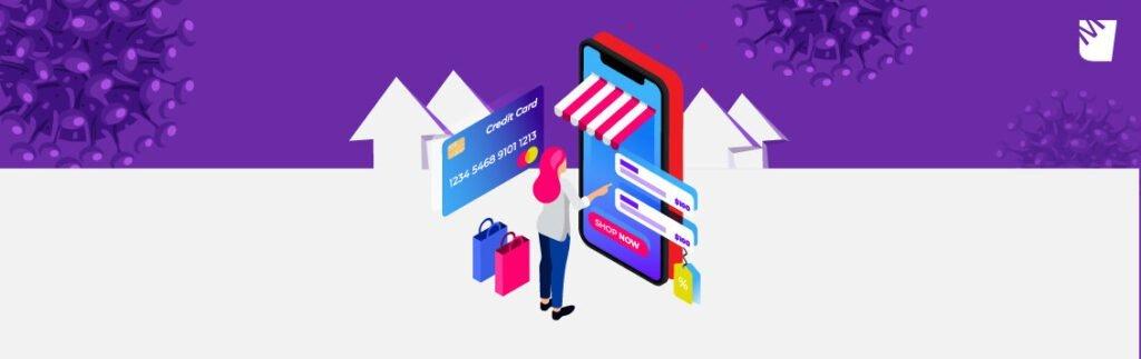 Salgın, artık e-ticaret sitelerinde bilindiği üzere alışveriş alışkanlığımızı da değiştirdi.