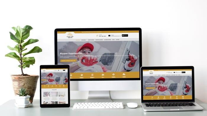 Dekorasyon Sitesi; responsive (Mobil uyumlu) sitelerimiz ile her cihazda farklı, kolay ve şık tasarım.