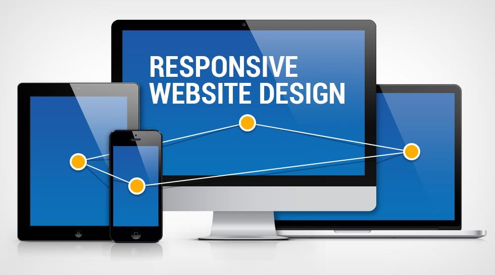 Responsive web sayfası tasarımı tüm cihazlara göre ekran ölçüsü alır.