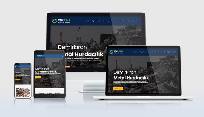 hurdacı web siteleri avmek web tasarım