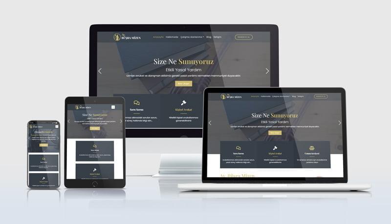 Mobil uyumlu avukat web sitelerimiz her cihaz ekranına özel ölçü alabilecek esneklikte tasarlanmaktadır.